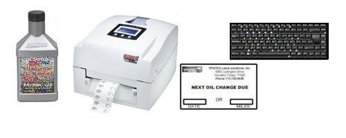 Oil Change Sticker System