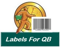Label for QuickBooks